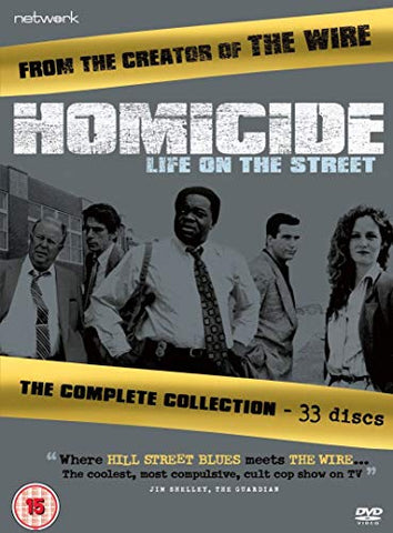 Homicide: The Complete Series [DVD]