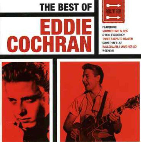 Eddie Cochran - The Best Of Eddie Cochran Audio CD