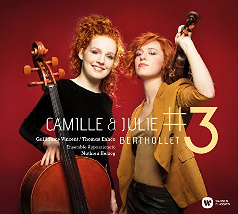 Camille Berthollet - Camille et Julie #3 Audio CD