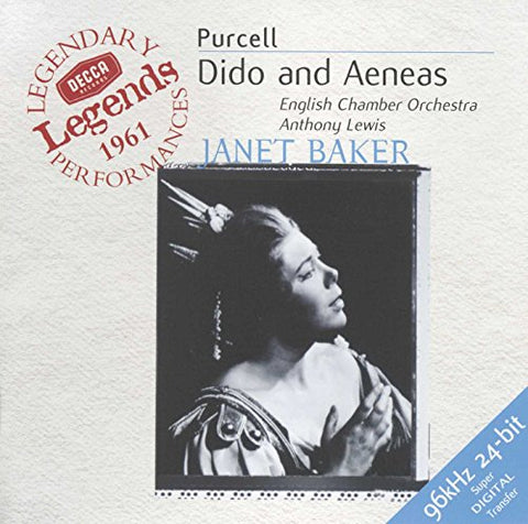 enry Purcell - Purcell: Dido and Aeneas Audio CD