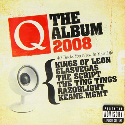 Q The Album 2008 Audio CD