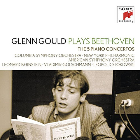 Glenn Gould - Glenn Gould Plays Beethoven: The 5 Piano Concertos Audio CD