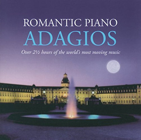 ROMANTIC PIANO ADAGIOS Audio CD