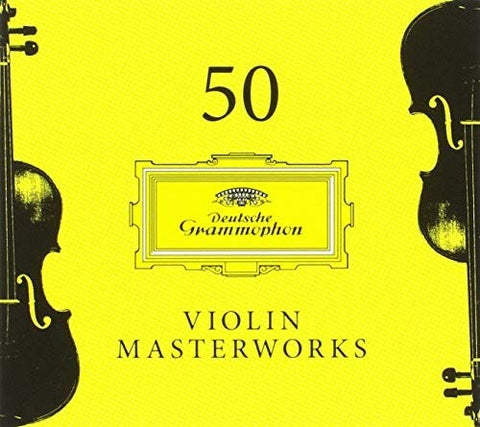 50 Violin Masterworks Audio CD