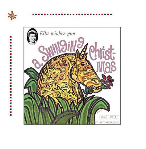 Ella Fitzgerald - Ella Wishes You A Swinging Christmas Audio CD