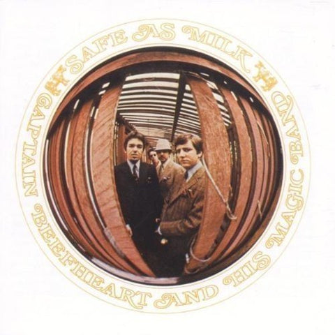 Captain Beefheart and His Magic Band - Safe As Milk Audio CD