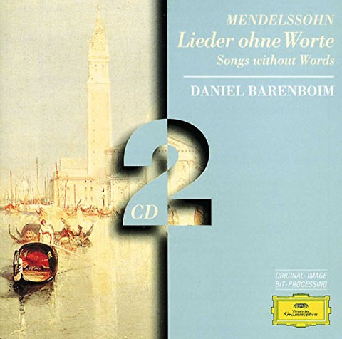Daniel Barenboim - F. Mendelssohn-Bartholdy: Songs without Words Opus 19 Audio CD
