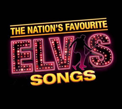 Elvis Presley - The Nations Favourite Elvis Songs Audio CD