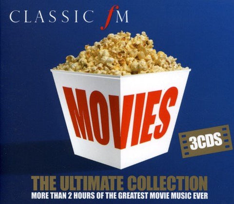 Classic FM Movies - The Ultimate Collection Audio CD