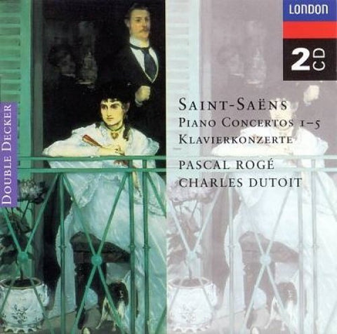 amille Saint-Saëns - ROGE, PASCAL and DUTOIT, CHARLES - Concertos pour piano N (2 CD)