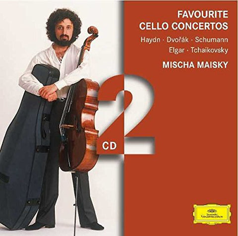 Mischa Maisky - Favourite Cello Concertos Audio CD