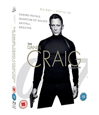 The Daniel Craig Collection [Blu-ray] Blu-ray