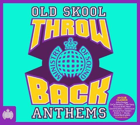 Throwback Old Skool Anthems - Ministry of Sound Sent Sameday* Audio CD