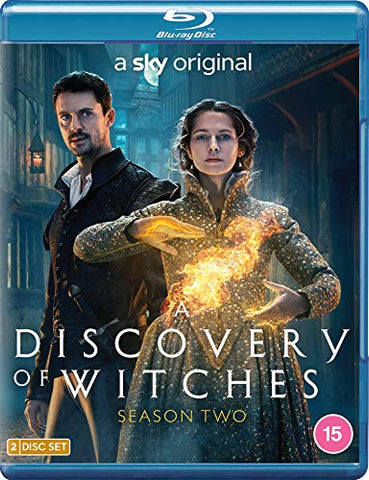 A DISCOVERY OF WITCHES S2 BLU RAY DVD