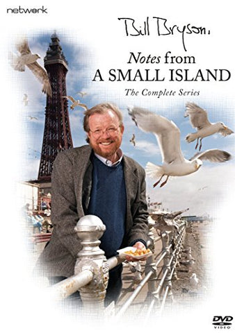 BILL BRYSON NOTES FROM A SMALL ISLAND DVD