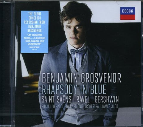 Benjamin Grosvenor - Rhapsody in Blue Audio CD