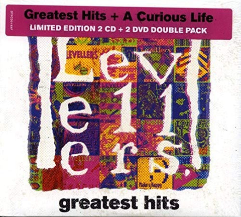 LEVELLERS - GREATEST HITS and A CURIOUS LIFE LIMITED EDITION BUNDLE Audio CD