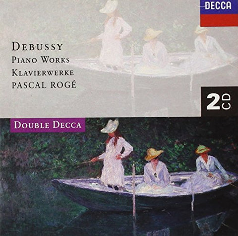 Pascal Roge - Debussy: Piano Works Audio CD