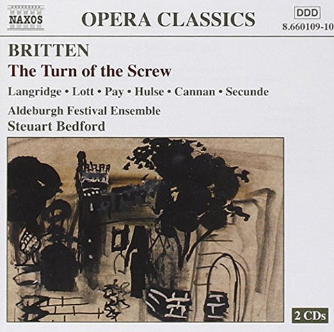 Steuart Bedford - Britten: The Turn of the Screw Audio CD