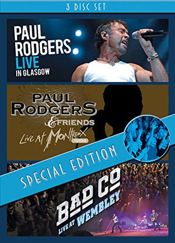 Live In Glasgow / Live At Montreux 1994 / Live At Wembley [DVD] [2014] [NTSC]