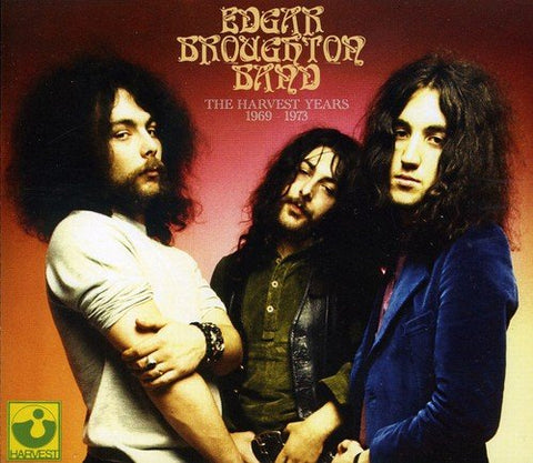 Edgar Broughton Band - The Harvest Years (1969-1973) Audio CD