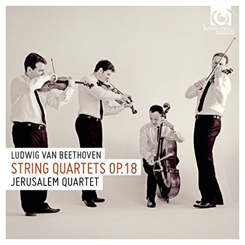 Jerusalem Quartet - Beethoven: String Quartets Op.18, 1-6 Audio CD