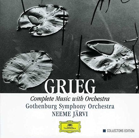 Gothenburg Symphony Orchestra - GRIEG: Complete Music with Orchestra: GSO Audio CD