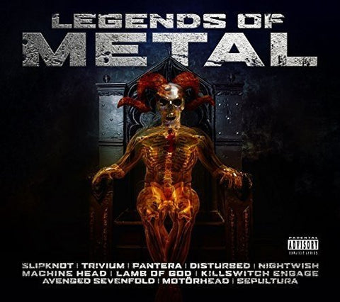 Legends of Metal Audio CD