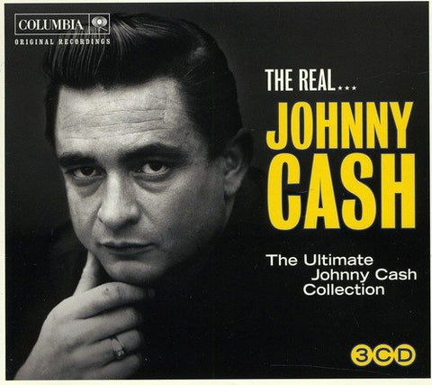 THE REAL JOHNNY CASH Audio CD