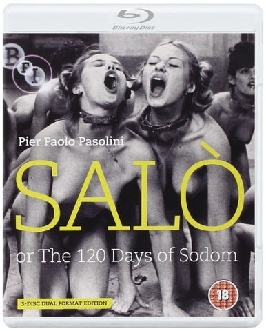 Salò or the 120 Days of Sodom [DVD + Blu-ray] [1975] Blu-ray