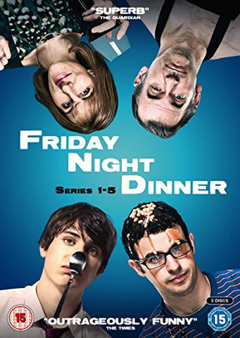 Friday Night Dinner - Series 1 - 5 [DVD] [2018]