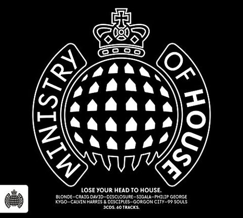 Ministry of House - Ministry of Sound Sent Sameday* Audio CD
