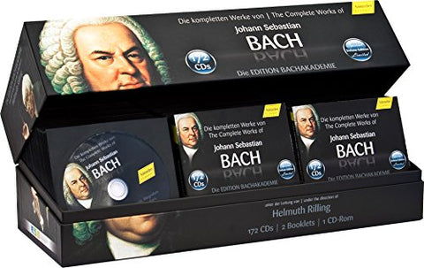 Helmuth Rilling - The Complete Works of J.S.Bach (Special Edition) Audio CD