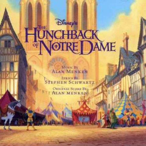 The Hunchback Of Notre Dame Original Soundtrack Audio CD