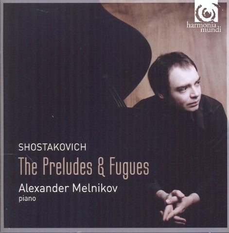 Alexander Melnikov - Shostakovich: Complete Preludes and Fugues Audio CD
