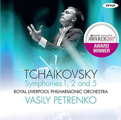 Royal Liverpool Philharmonic Orchestra - Tchaikovsky: Symphonies 1, 2, 5 Audio CD