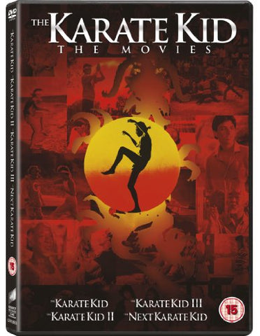 The Karate Kid 1-4 Box Set [DVD]