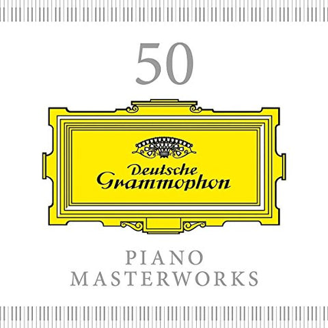 50 Piano Masterworks Audio CD