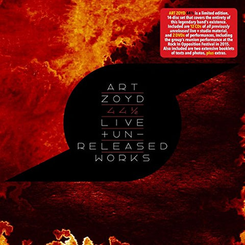 Art Zoyd - 44 1/2: Live and Unreleased Works Audio CD