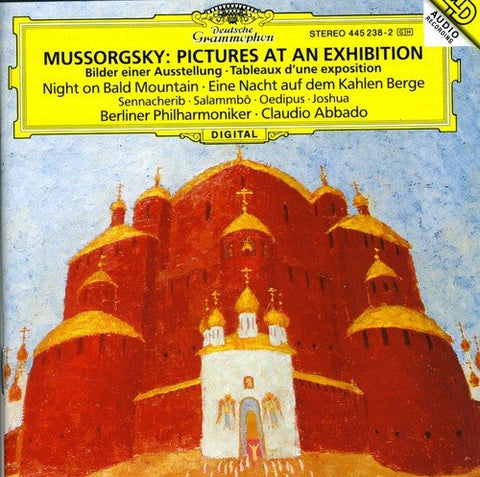 odest Petrovich Mussorgsky - Pictures at an Exhibition and More Audio CD