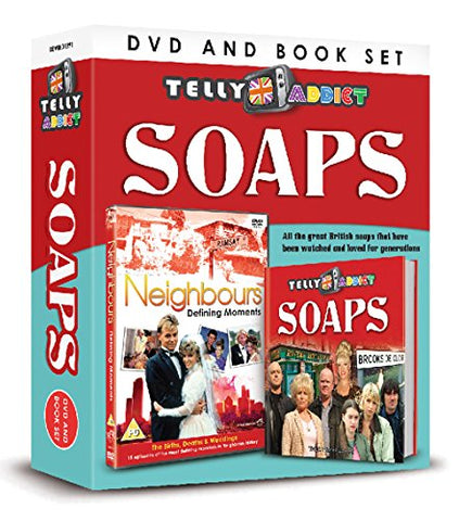 Telly Addict: Soaps (DVD/Book Gift Set)