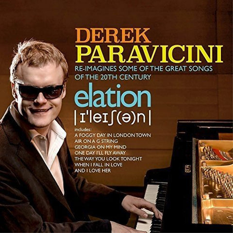 Derek Paravicini - Elation Audio CD