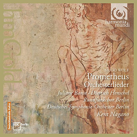 Juliane Banse - Wolf: Prometheus, Orchestral Songs Audio CD