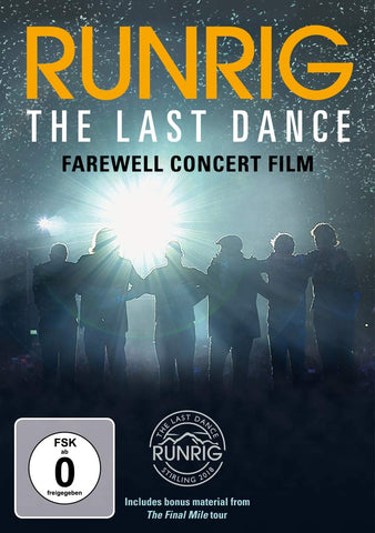 RUNRIG - THE LAST DANCE - FAREWELL CONCERT Sent Sameday* DVD