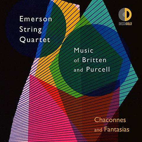 Emerson String Quartet - Chaconnes/Fantasias: Music of Britten and Purcell Audio CD