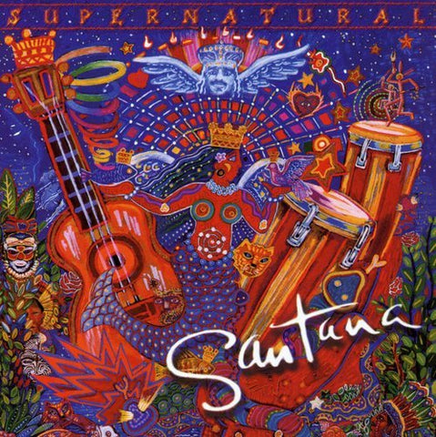 Santana - Supernatural Audio CD