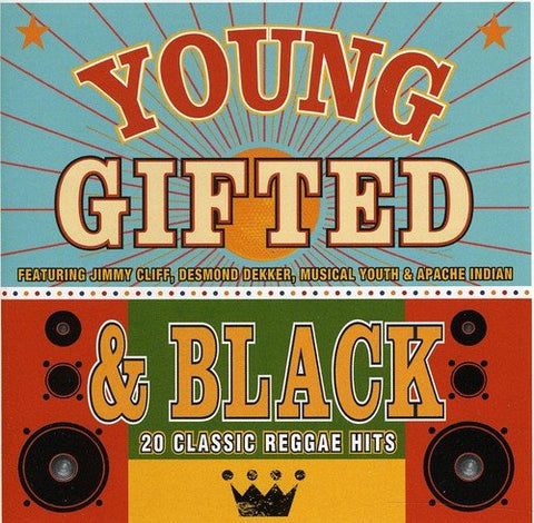 Young Gifted and Black - 20 Classic Reggae Hits Audio CD