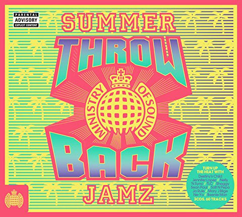 Throwback Summer Jamz - Ministry of Sound Sent Sameday* Audio CD