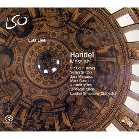 London Symphony Orchestra - Handel - Messiah Audio CD