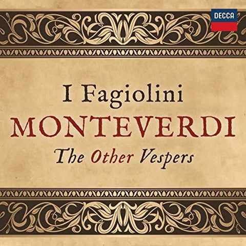 I Fagiolini The 24 Robert Hollingworth - Monteverdi: The Other Vespers Audio CD